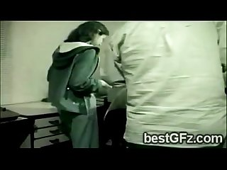 2 lesbian gf got caught going naughty at the office 1204 1