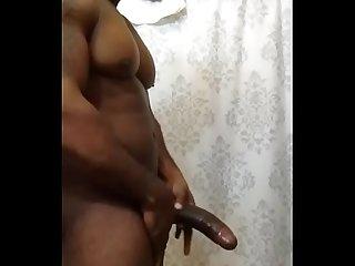 Bigblkmusclebull