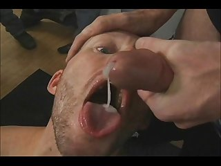 Bukkake and cum eating www promiscuousboys com br