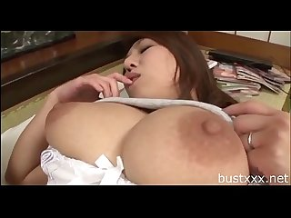 Chubby japanese mom visit bustxxx net for more boobs video