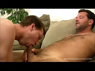 Daddy william king bareback fucks young nick