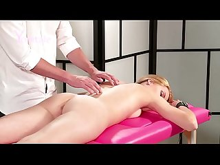 Yonitale: orgasmic massage with sexy blonde Izzy Delphine. P1