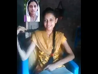 Indian Hot College Teen Girl On Video Call With Lover at bedroom - Wowmoyback