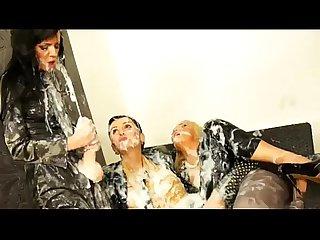 Bukkake glamour slime strapon