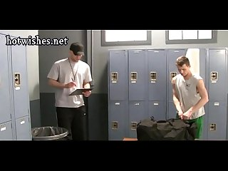Naughty boys having anal in the locker room
