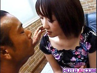 Miyuki hashida has hairy crack fingered
