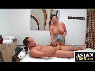 Hot Masseuse Rides Customer Cock