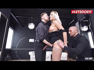 LETSDOEIT - #Angelika Grays - Rough DP Penetration For Horny Ukrainian Girl