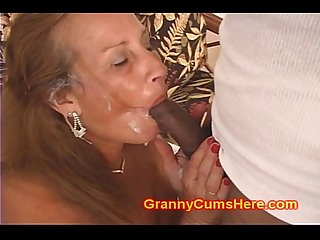 My filthy whore granny is nasty