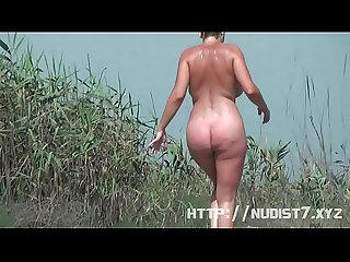 One day my wife decided to be nudist nude beach video