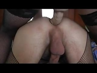 Russian wife fucks her husband withs big strapon