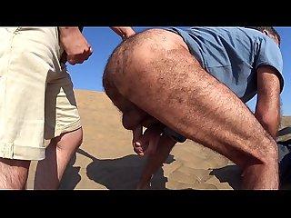 Sexo en las dunas