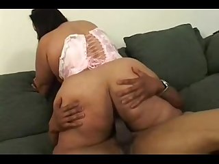 Mexican bbw fucked by black cock