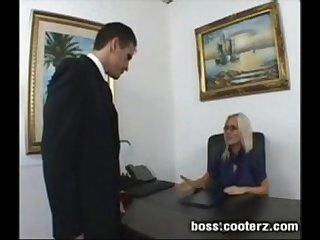 My boss sucks my cock