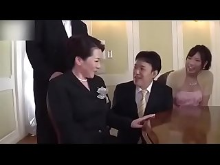 Ryoko murakami wedding day busty mother in law fucked by son in law