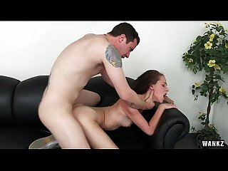 Lola hunter pounds on cock