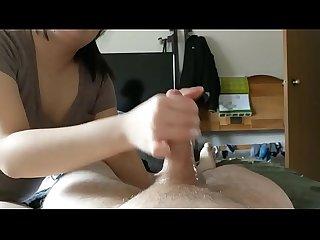 Homemade handjob