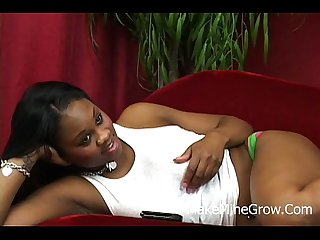Big Tits Ebony Get Double Penetration