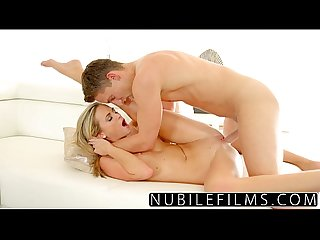Nubilefilms bald tight pussy gets pounded by hard cock