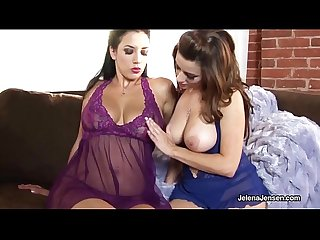 Penthouse pet jelena jensen massages boobs w sol taylor vixen excl