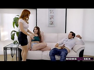 MomsTeachSex - Hot MILF Caught Daughter Fucking StepSon S8:E1
