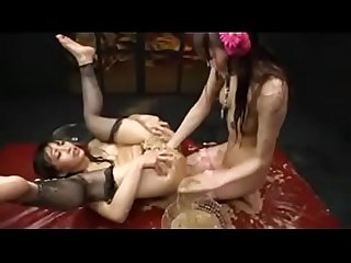 Asian Teen Lesbians Puke On Eachothers Pussies and Eat It