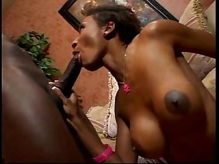 Ebony hard Sex pov and swallow sperm