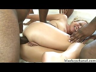 Black monster cock destruction