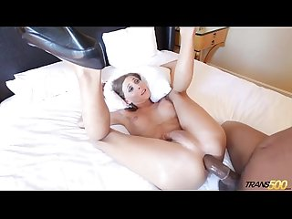Sienna takes a big black cock like a champ excl