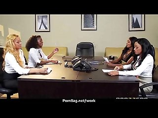 Busty Babe Fucking her boss in the office 8