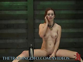 Dirty Slave Is Trained to Keep Cumming
