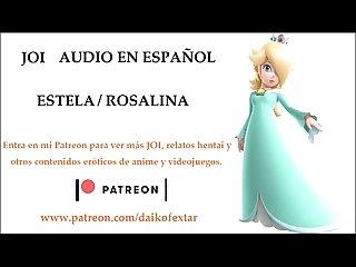 JOI Hentai de Estela / Rosalina. Audio en español.