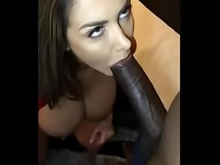 WHITE BITCH PLEASING A BBC