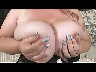Kiki Rainbow Big Tits Fun And Dildo Fucking