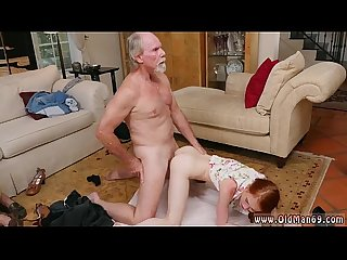 Old guy caught jerking xxx online hook up