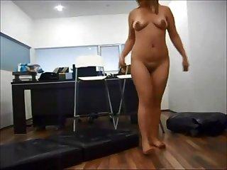 Amateur milf office hidden cam