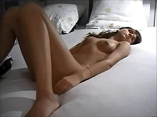 Amateur babe on real homemade