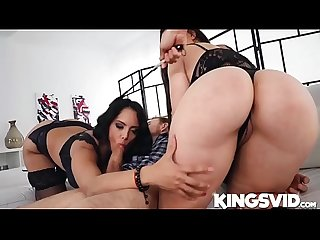Marta Lacroft, Katrina Moreno In Thick Euro Chicks