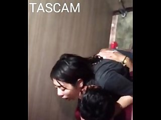 Spycam thai couple sex in toilet club
