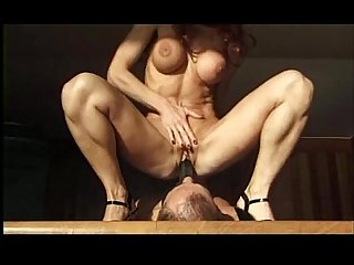 milf play with man dildo in the ass fucking
