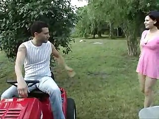 Ava Marteens outdoors anal