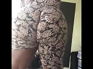 big booty ebony from hotpornocams.com twerk on webcam