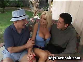 Lori Pleasure is a big boobed vixen who has a com