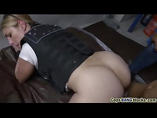 One hot female cop uses black felon s large penis toearns a lesson hd 72p porn 2