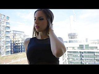 Stella cox double Handjob
