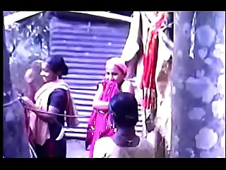 South indian Mallu taking bath outside video part 6
