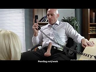 Office assistant getting fucked hard 4