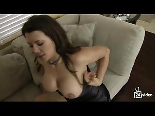 Leena sky in step mom fucks son while talking to dad