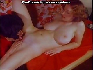Laura Lazare, Misty Regan, Don Fernando in vintage porn scene