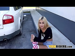 Uma jolie shoplifting rebel fucks on the run 0001
